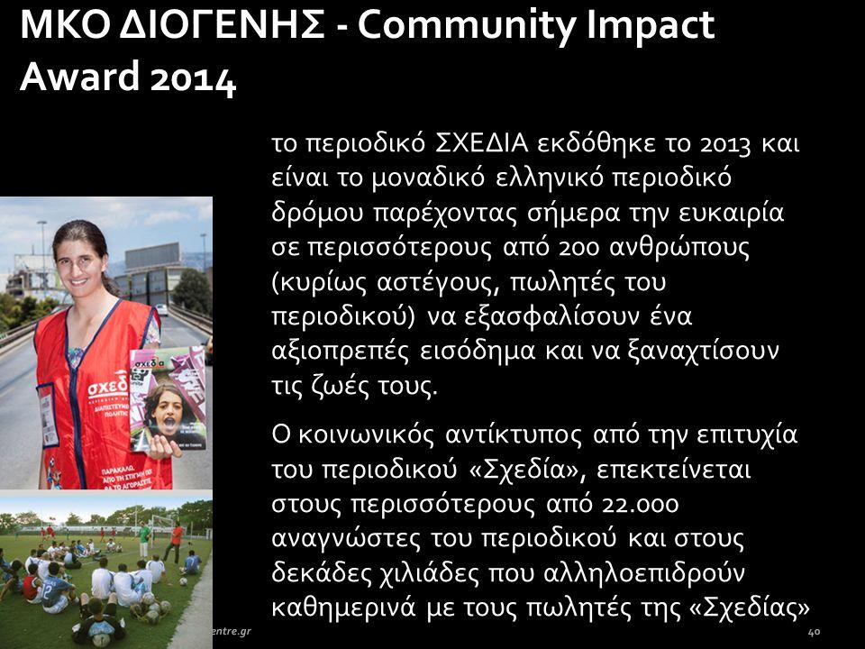 το περιοδικό ΣΧΕΔΙΑ εκδόθηκε το 2013 και είναι το μοναδικό ελληνικό περιοδικό δρόμου παρέχοντας σήμερα την ευκαιρία σε περισσότερους από 200 ανθρώπους