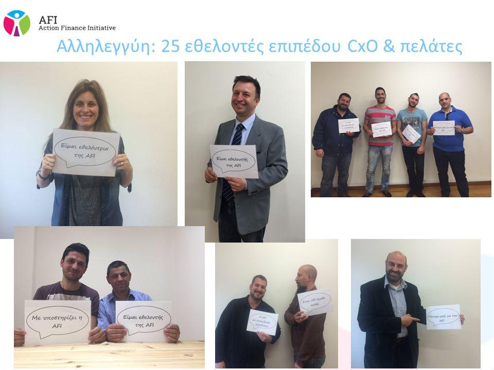 Αλληλεγγύη: 25 εθελοντές επιπέδου CxO & πελάτες