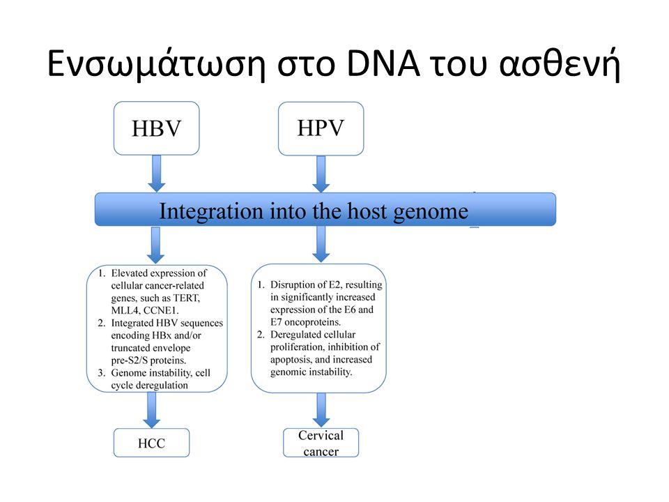 Ενσωμάτωση στο DNA του ασθενή