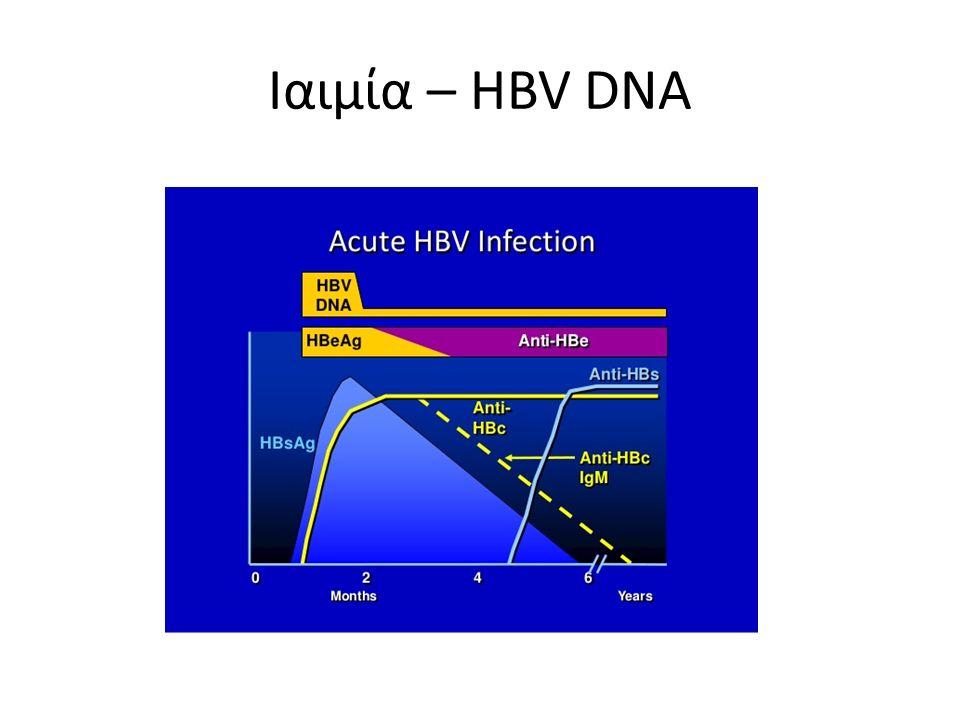 Ιαιμία – HBV DNA