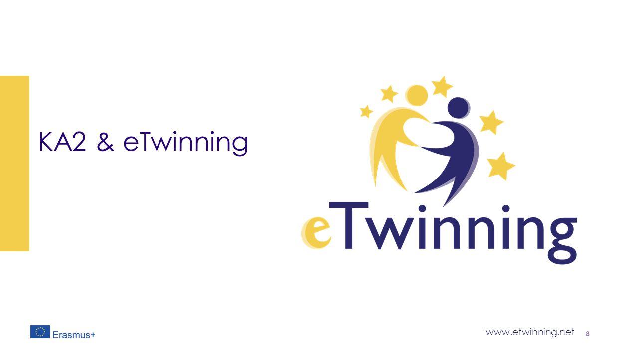 www.etwinning.net ΚΑ2 & eTwinning 8
