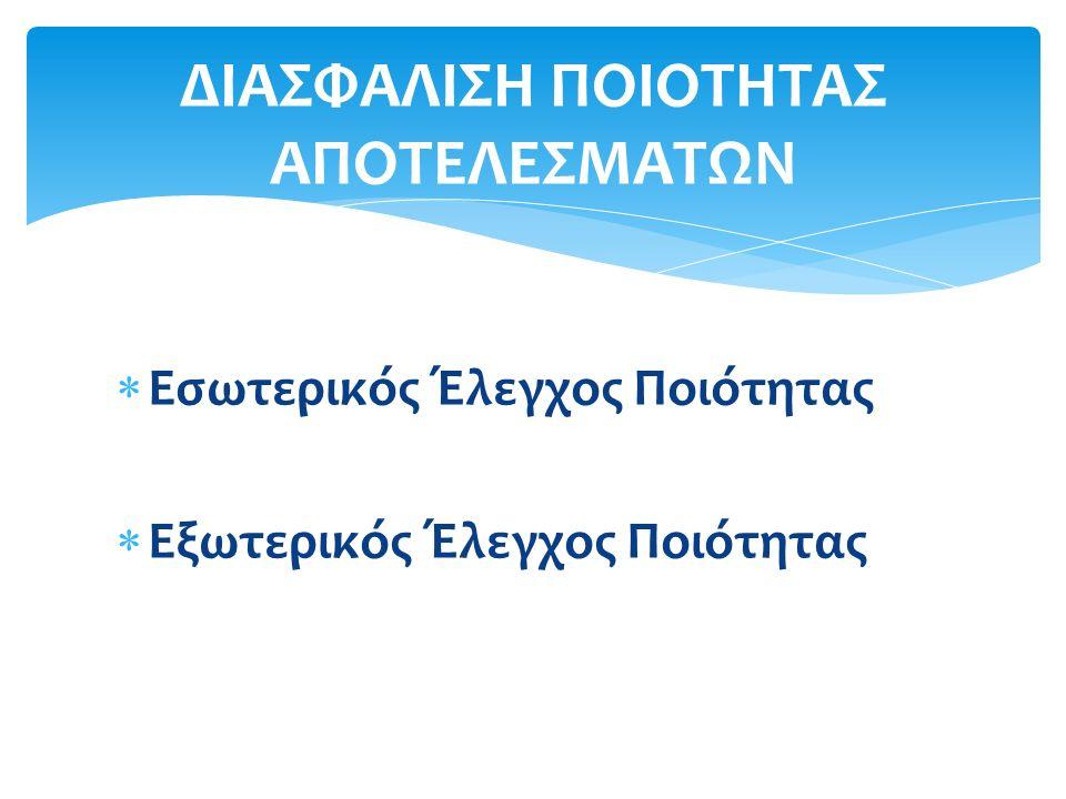 Έκθεση Επίδοσης Εργαστηρίου στην Παράμετρο «SO4--»
