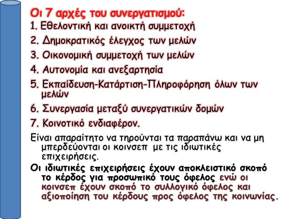 KOINΣΕΠ ΚΕΝΤΡΙΚΗΣ ΜΑΚΕΔΟΝΙΑΣ Victory farm στη Θεσσαλονίκη έχει 9 μέλη (μηχανικοί, τεχνολόγοι τροφίμων, γεωπόνοι).