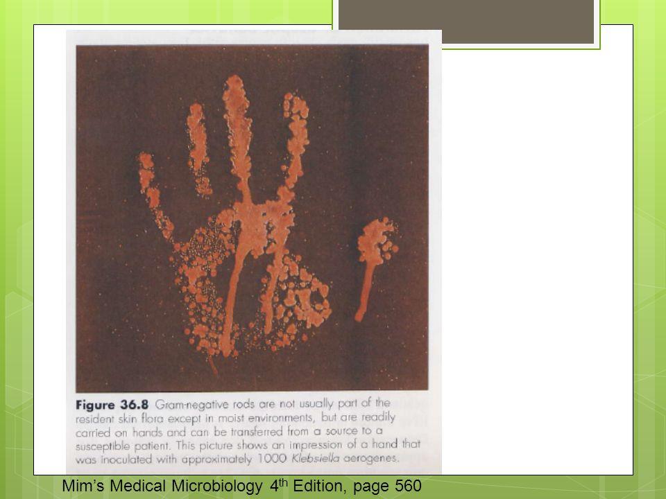 Πρόληψη Mim's Medical Microbiology 4 th Edition, page 560