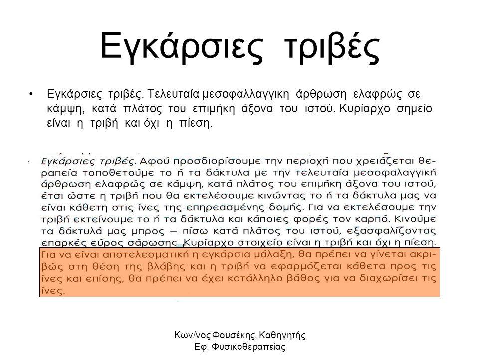 Kων/νος Φουσέκης, Καθηγητής Εφ.