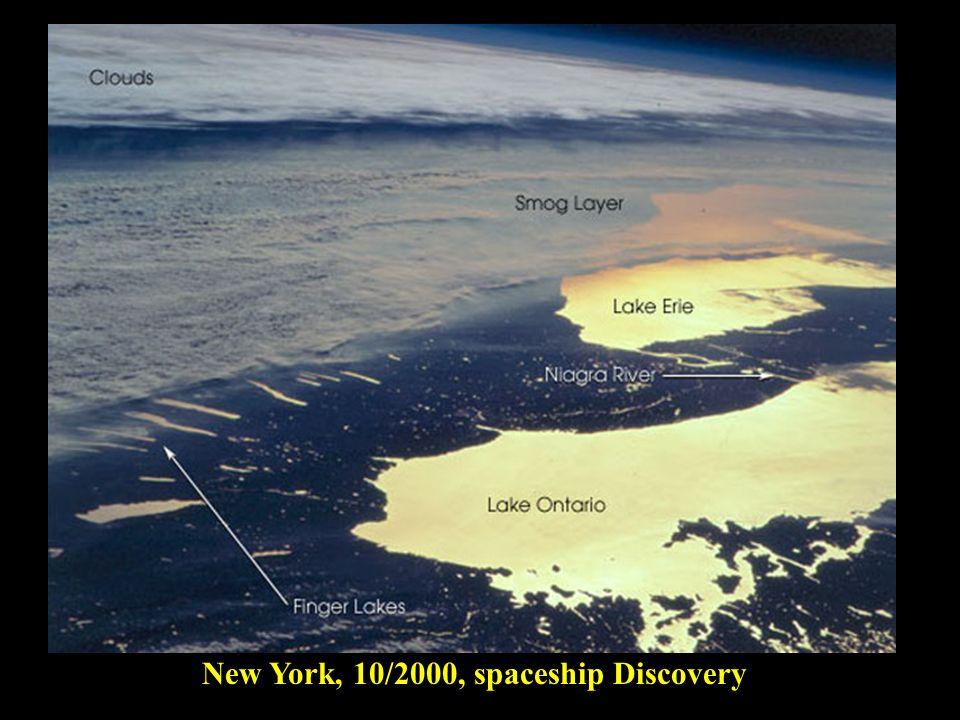 New York, 10/2000, spaceship Discovery