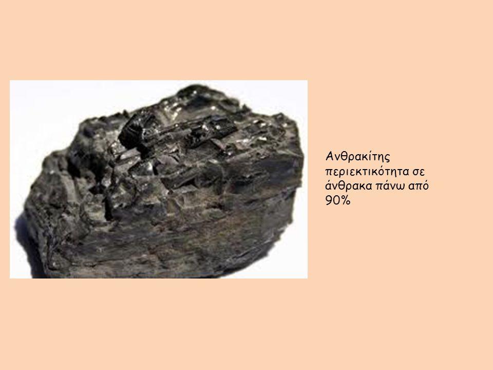 Ανθρακίτης περιεκτικότητα σε άνθρακα πάνω από 90%
