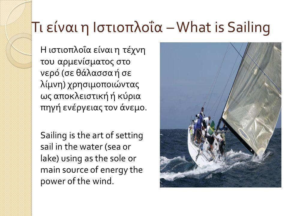 Το όνομά της είναι σύνθετο από το ιστίο + πλους, δηλαδή πλεύση με πανί που τα παλιά χρόνια χρησιμοποιούσαν τα σκάφη για να ταξιδεύουν.