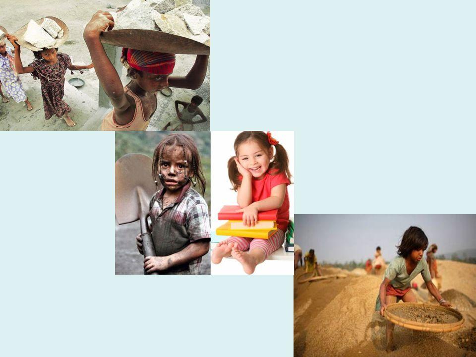 Τα δικαιώματα του παιδιού εξακολουθούν να απέχουν πολύ από το να γίνουν σεβαστά σε παγκόσμιο επίπεδο και επίσης οι θεμελιώδεις ανάγκες του παιδιού εξακολουθούν να μην ικανοποιούνται, όπως το δικαίωμα να έχει κατάλληλη τροφή, βασική ιατρική περίθαλψη ή εκπαίδευση.