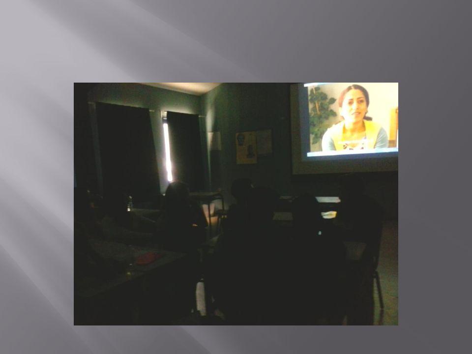  Παρακολουθήσαμε ένα ντοκιμαντέρ που είχε να κάνει με έργα Ελλήνων λογοτεχνών για την Κύπρο.