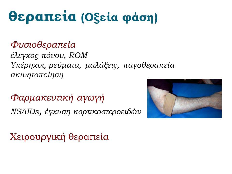 θεραπεία (Οξεία φάση)