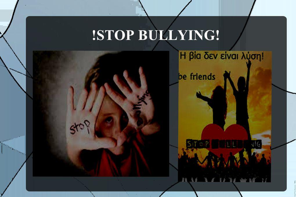Ποιοί είναι συνήθως τα θύματα: Τα αγόρια είναι πιο συχνά θύτες και θύματα εκφοβιστικής συμπεριφοράς, που εμφανίζεται κυρίως στο σχολικό περιβάλλον σε χώρους χωρίς επίβλεψη από τους εκπαιδευτικούς, όπως η αυλή, ο διάδρομος και η τάξη κατά τη διάρκεια του διαλείμματος.