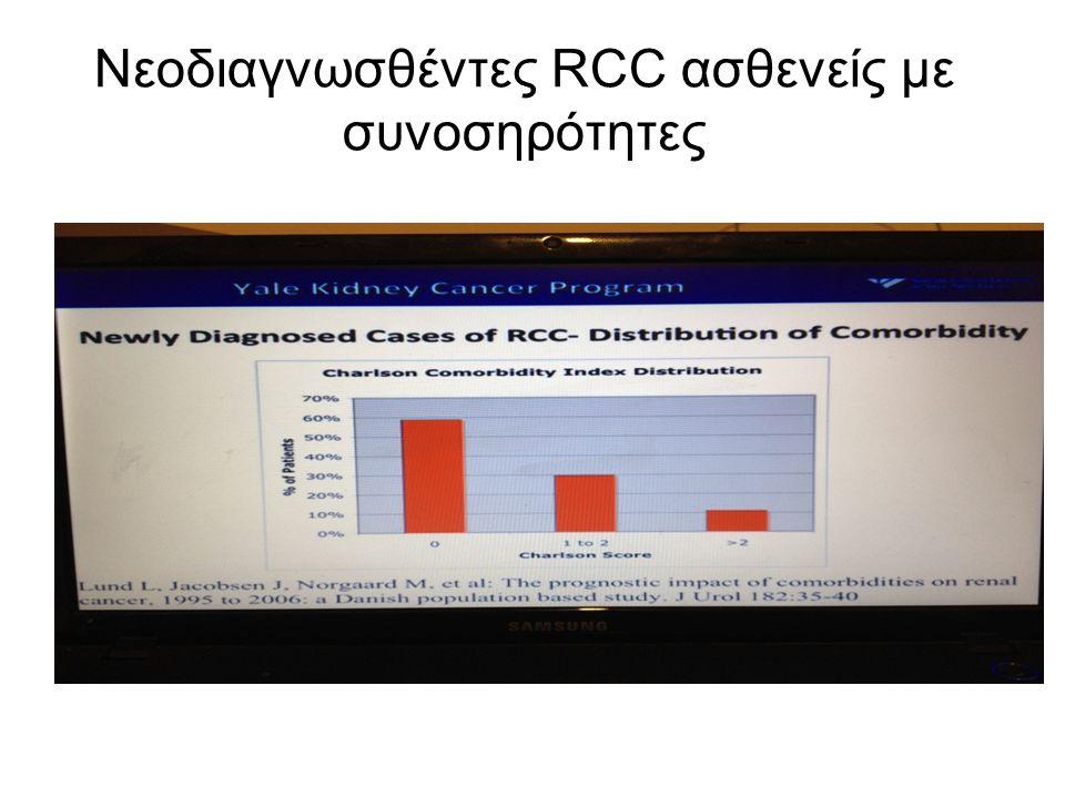 Νεοδιαγνωσθέντες RCC ασθενείς με συνοσηρότητες