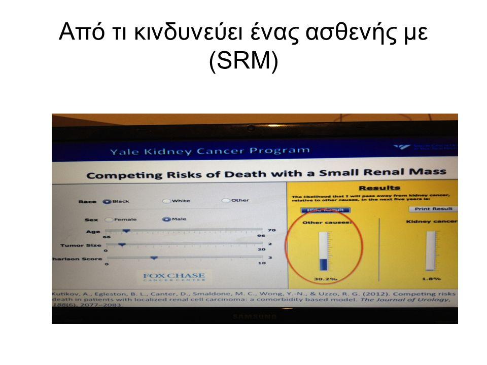 Από τι κινδυνεύει ένας ασθενής με (SRM)
