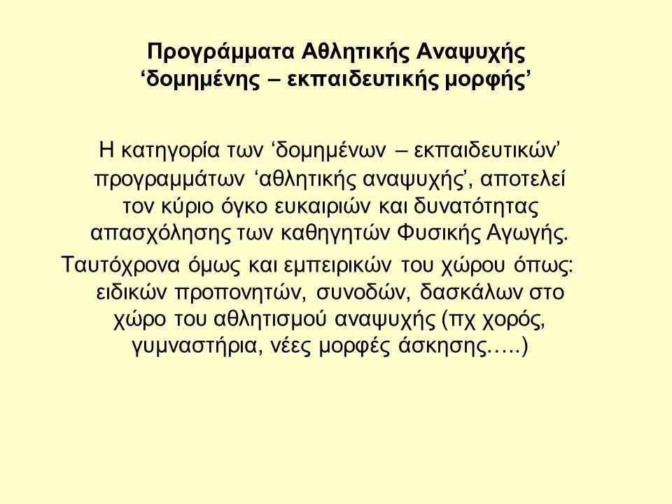 Ερωτήσεις για το μάθημα Ποια πτυχία ή βεβαιώσεις είναι κατάλληλες για τους καθηγητές αεροβικής γυμναστικής στην Ελλάδα; Ποια είναι τα επίπεδα δυσκολίας σε σχολές αθλημάτων (τένις, χιονοδρομία, μπάσκετ κλπ).