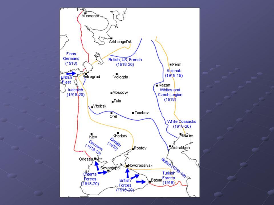 Αποτελέσματα της επανάστασης (1917-1928) Το Νέο κράτος Μεσσιανικό – Εκκοσμικευμένο - Αντι-θρησκευτικό ΣυγκεντρωτικόΓραφειοκρατικόΙσονομικόΣυμπεριεκτικόΒαθμιδικό Αυταρχικό εξαναγκαστικό καθεστώς Πολιτική βάση: Βιομηχανικό προλεταριάτο, όχι αγρότες Νέα Οικονομική Πολιτική  Κολεκτιβοποίηση αγροτικής παραγωγής, εξαναγκαστική εκβιομηχάνιση: Υψηλή βιομηχανική ανάπτυξη / εκσυγχρονισμός Συσπείρωση αστικών κομματικών βάσεων Πλήρης υποτέλεια αγροτών/εργατών στο Κόμμα Πλήρης γραφειοκρατικόποίηση/ιεραρχικοποίηση των πολιτικών σχέσεων