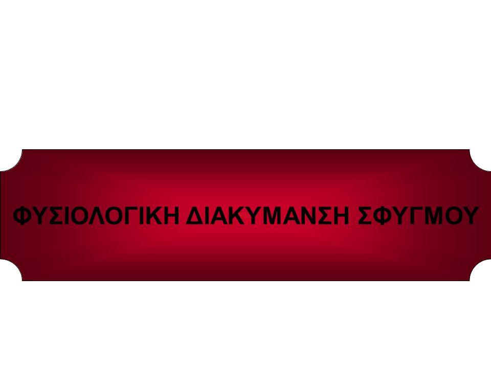 ΦΥΣΙΟΛΟΓΙΚΗ ΔΙΑΚΥΜΑΝΣΗ ΣΦΥΓΜΟΥ