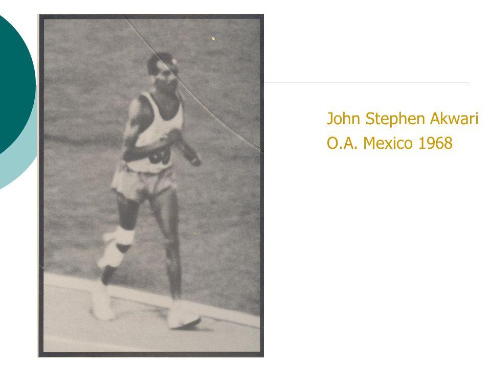 John Stephen Akwari O.A. Mexico 1968