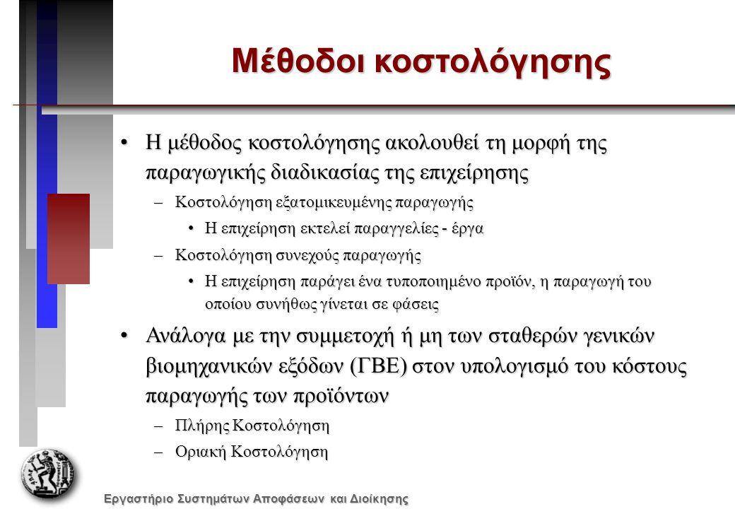 Εργαστήριο Συστημάτων Αποφάσεων και Διοίκησης Συμπεράσματα (1) Από τις οικονομικές καταστάσεις μπορούν να εξαχθούν πολλά ενδιαφέροντα συμπεράσματα: 1.