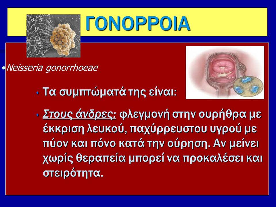 10 Στις γυναίκες: το βακτήριο προκαλεί επίσης ουρηθρίτιδα και πόνο κατά την ούρηση, καθώς και αυξημένα κολπικά εκκρίματα.