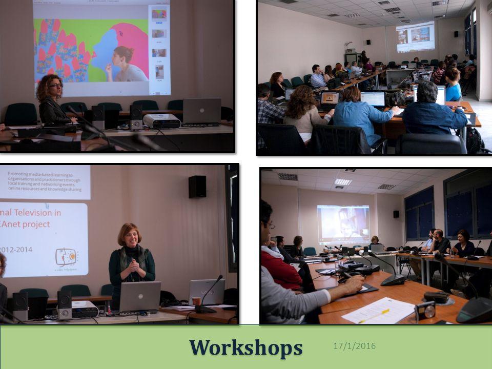 17/1/2016 Workshops