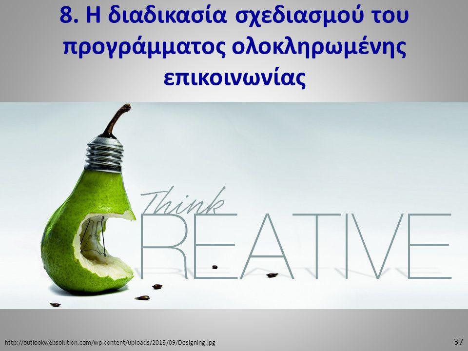 8. Η διαδικασία σχεδιασμού του προγράμματος ολοκληρωμένης επικοινωνίας 37 http://outlookwebsolution.com/wp-content/uploads/2013/09/Designing.jpg