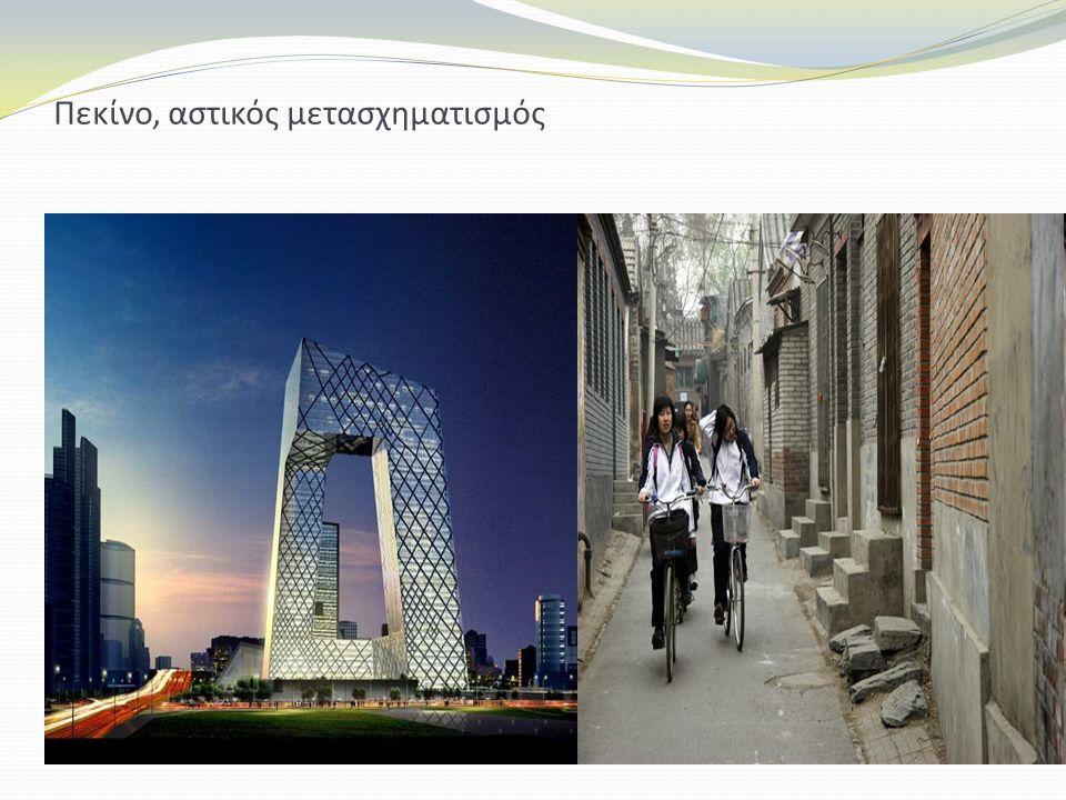 Πεκίνο, αστικός μετασχηματισμός