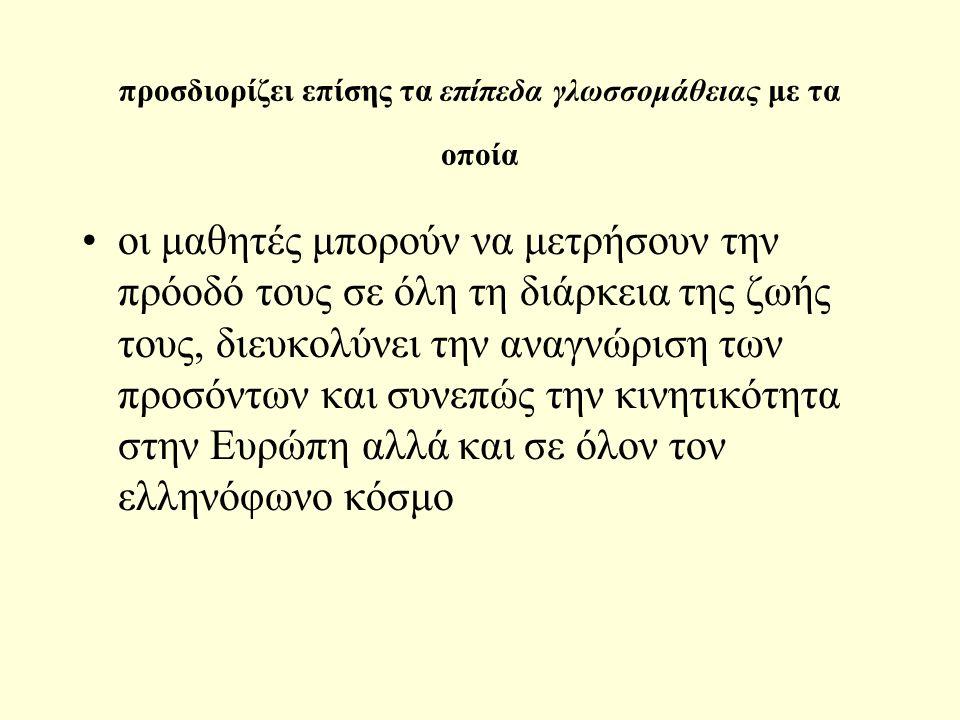 4.Επιτελεστική δεξιότητα1. (savoir-faire) περιλαμβάνει: α.