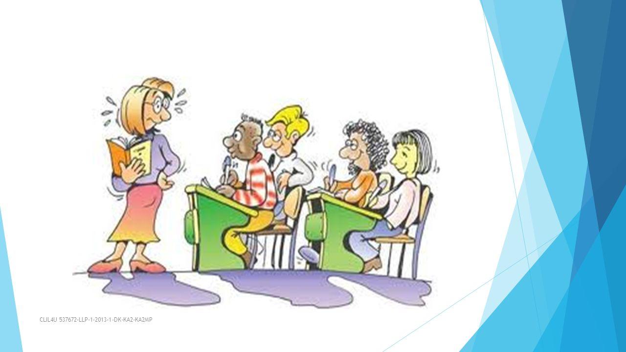Στόχοι του προγράμματος:  Ανάπτυξη υλικού το οποίο στηρίζει τη μέθοδο  πληροφορίες για τους γονείς και την συμμετοχή τους (ειδικά για τα δημοτικά σχολεία)  πληροφορίες για τους εργοδότες (για τις σχολές επαγγελματικής κατάρτισης)  δημιουργία υποδειγματικών σεναρίων  τράπεζα διαδικτυακού υλικού, προωθητικών βίντεο CLIL4U 537672-LLP-1-2013-1-DK-KA2-KA2MP