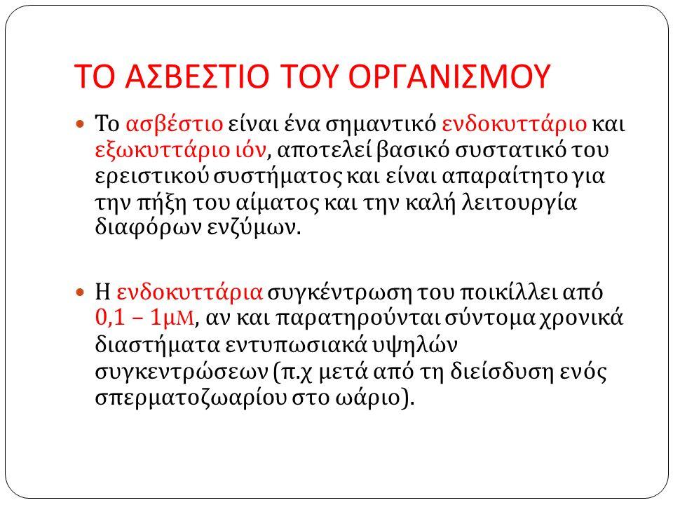 Οστεοβλάστες : Οι οστεοβλάστες παίζουν σημαντικό ρόλο στην ομοιόσταση του ασβεστίου.
