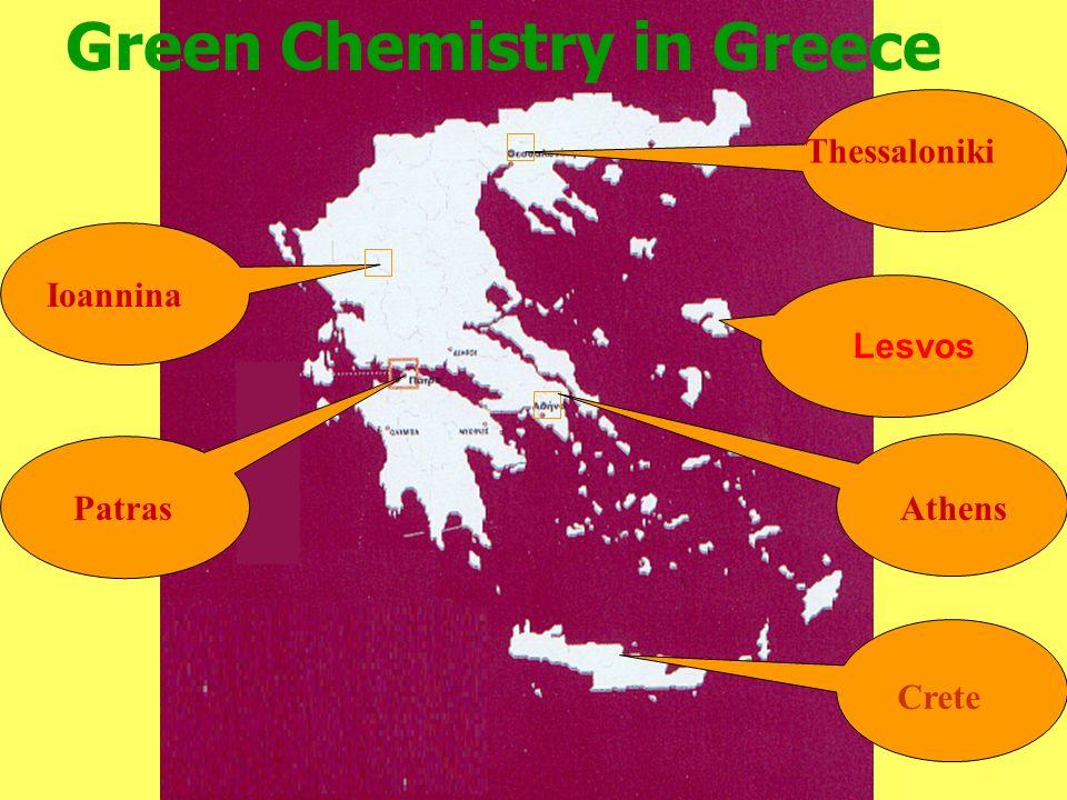 50 Patras Ioannina Athens Thessaloniki Green Chemistry in Greece Crete Lesvos