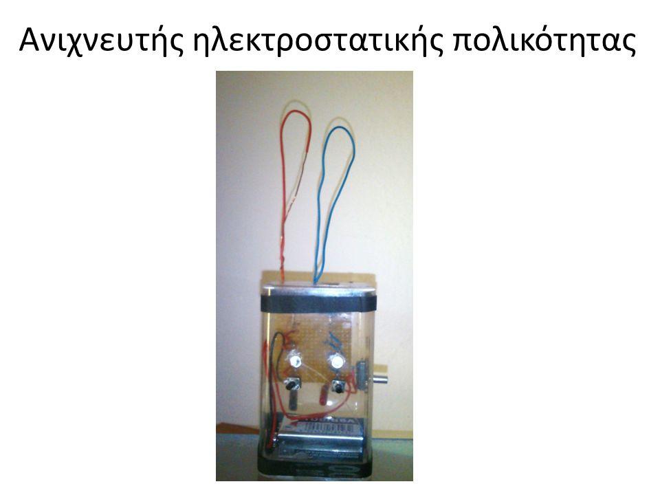 Ανιχνευτής ηλεκτροστατικής πολικότητας