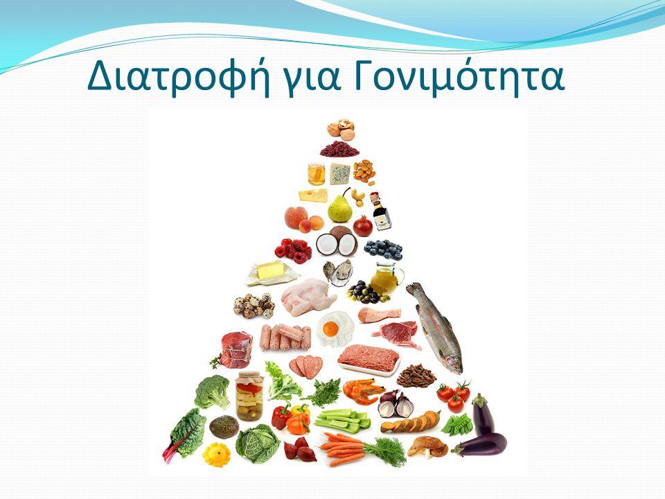 Διατροφή για Γονιμότητα