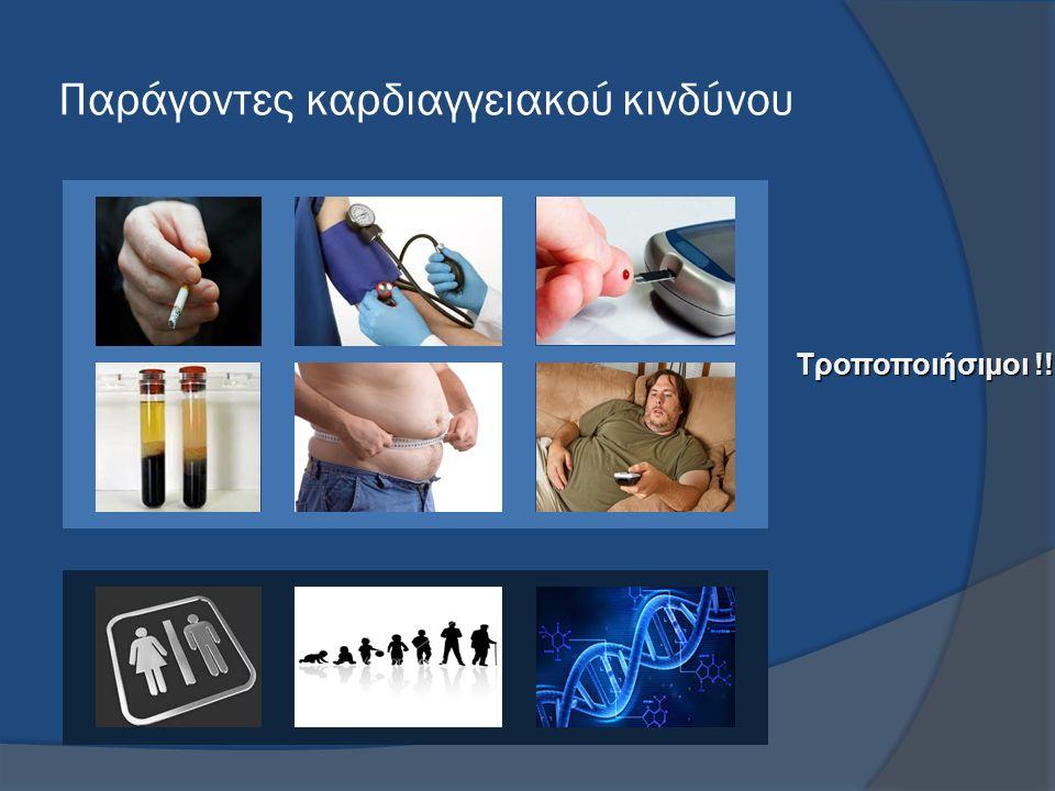 Παράγοντες καρδιαγγειακού κινδύνου Τροποποιήσιμοι !!
