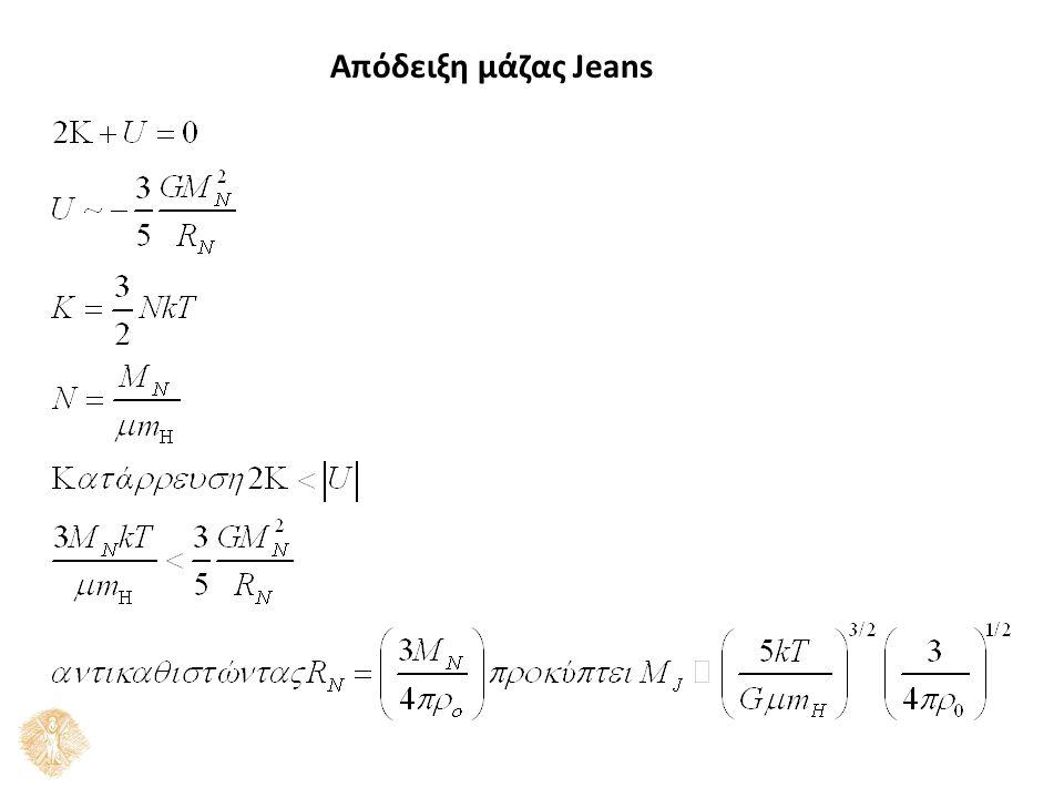 Απόδειξη μάζας Jeans