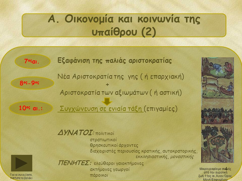 15 H νομοθεσία της Μακεδονικής Δυναστείας και η σύγκρουσή της με τους Δυνατούς