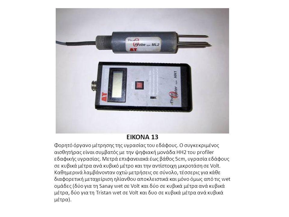 EIKONA 13 Φορητό όργανο μέτρησης της υγρασίας του εδάφους.