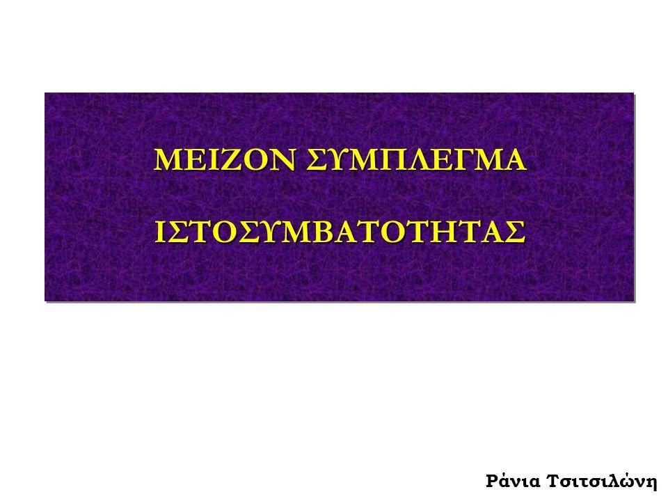 Ράνια Τσιτσιλώνη ΜΕΙΖΟΝ ΣΥΜΠΛΕΓΜΑ ΙΣΤΟΣΥΜΒΑΤΟΤΗΤΑΣ ΙΣΤΟΣΥΜΒΑΤΟΤΗΤΑΣ