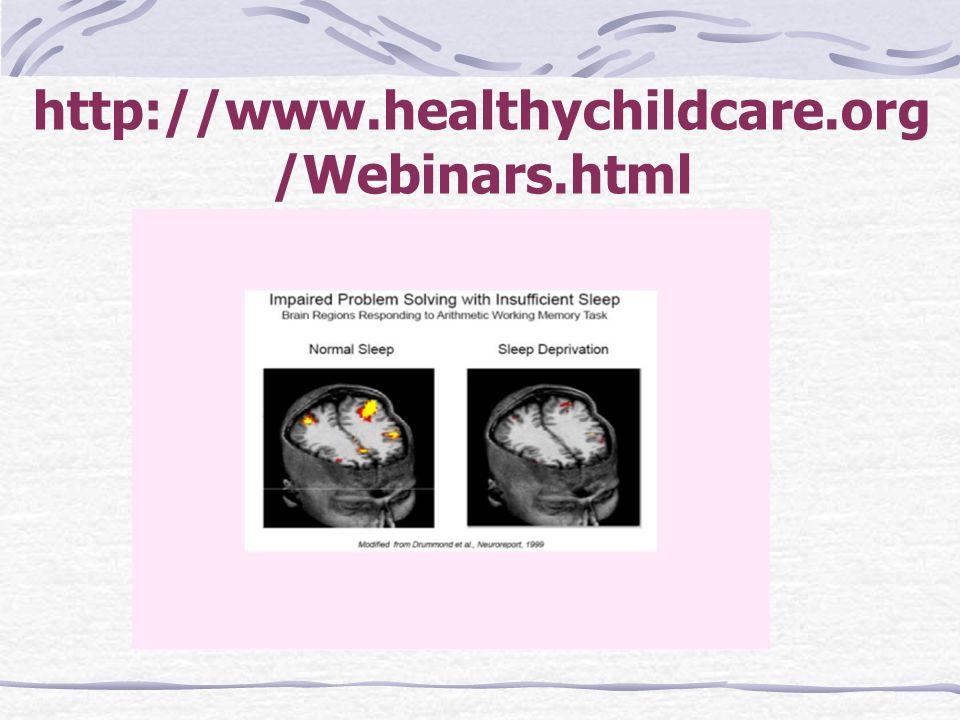 http://www.healthychildcare.org /Webinars.html