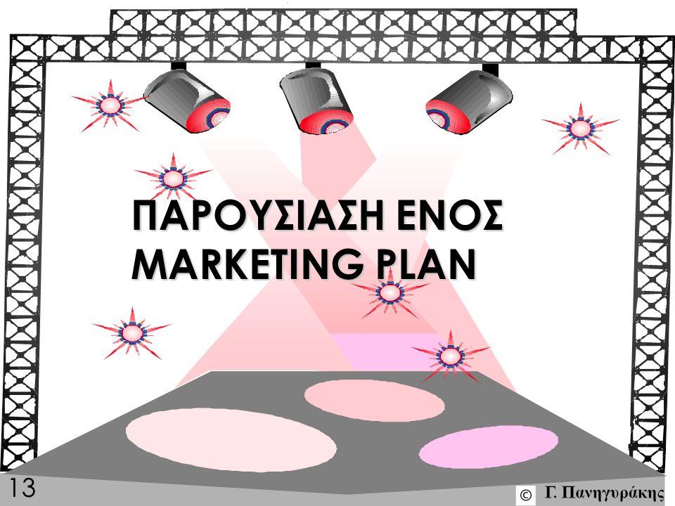 mplan13 ΠΑΡΟΥΣΙΑΣΗ ΕΝΟΣ MARKETING PLAN 13