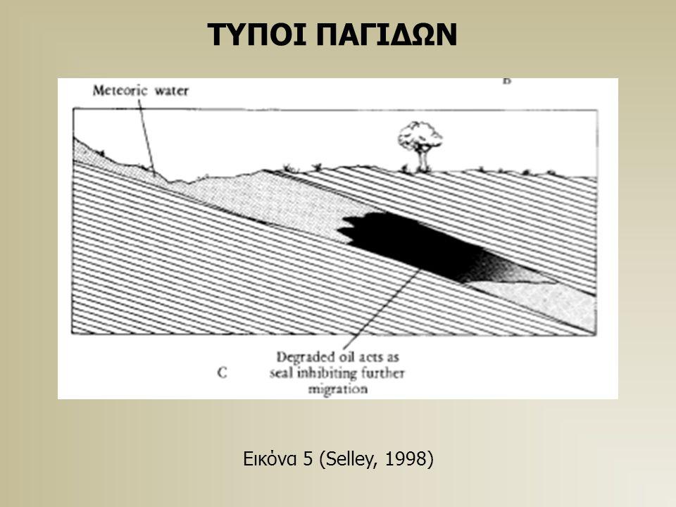ΤΥΠΟΙ ΠΑΓΙΔΩΝ Εικόνα 5 (Selley, 1998)