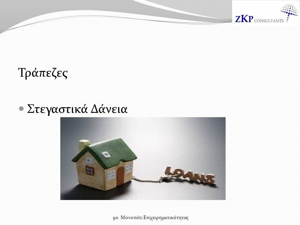 Τράπεζες Στεγαστικά Δάνεια 9ο Μονοπάτι Επιχειρηματικότητας