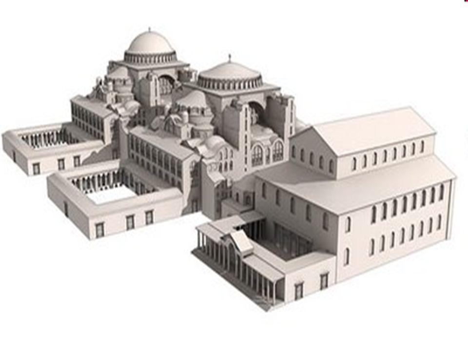 Οι οικοδόμοι της Αγίας Σοφίας ήταν οι μεγαλύτεροι στην ειδικότητα τους επιστήμονες της ελληνικής Ανατολής.
