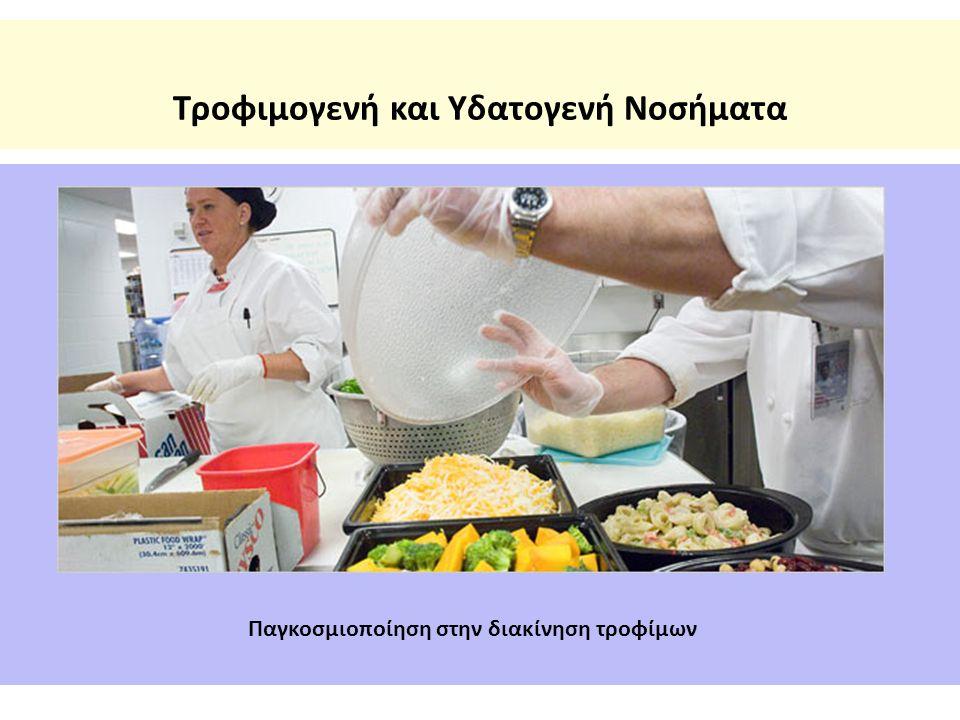 Τροφιμογενή και Υδατογενή Νοσήματα Παγκοσμιοποίηση στην διακίνηση τροφίμων