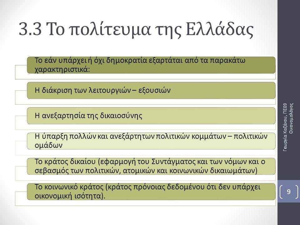 Κοινοβουλευτική δημοκρατία Είναι τύπος της αντιπροσωπευτικής (έμμεσης) δημοκρατίας.