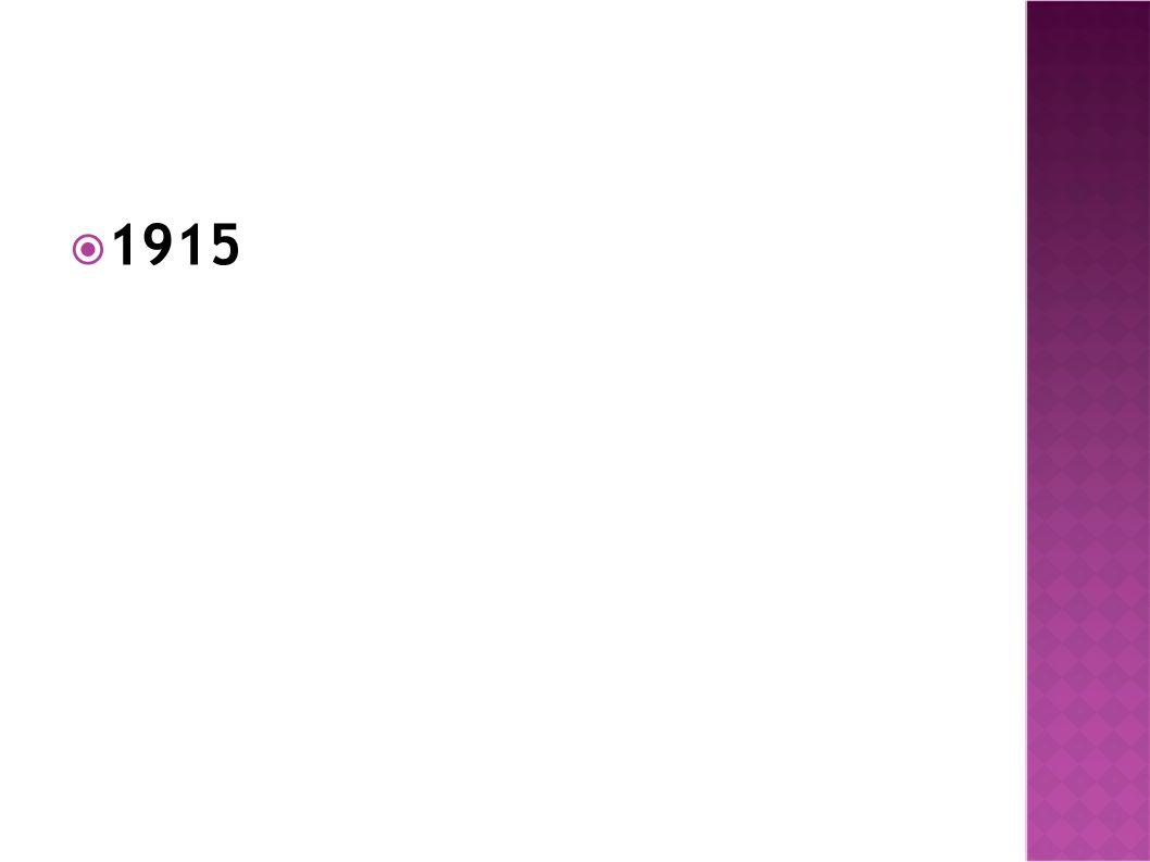 1915  Απρίλιος 1915: Συμμαχική ήττα στην Καλλίπολη  Μάης-Σεπτέμβριος 1915: ήττα των Ρώσων στο Γκόρλιτς Ταρνόβ  21 Σεπτεμβρίου 1915: ο Φερδινάνδος της Βουλγαρίας μπήκε στον πόλεμο στο πλευρό των Κεντρικών Δυνάμεων