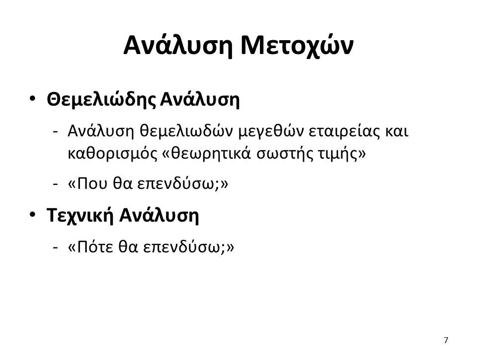 «γκουρού» θεμελιώδους ανάλυσης (3 από 3) Ο Τ.R.
