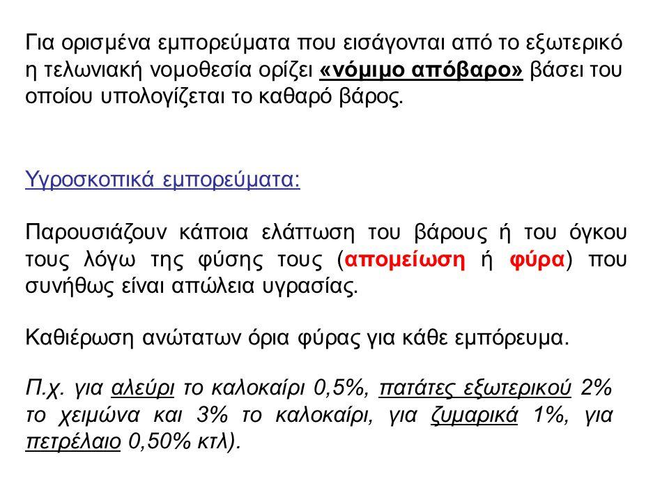 (2) Παράδοση συναλλαγματικής (Bill of Exchange).