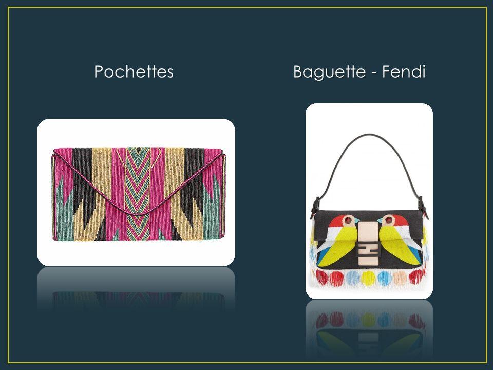 Pochettes Baguette - Fendi