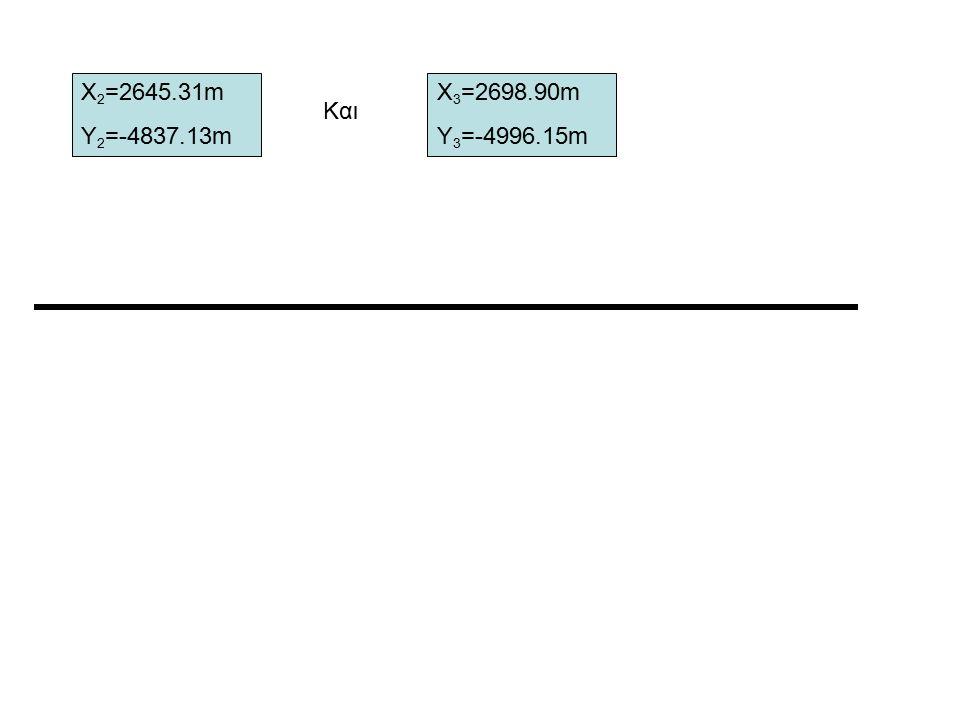 Άσκηση 4 : Δίνονται: G AB =361 g.3434 και G ΒΓ =106 g.6484. Να βρεθεί η γωνία φ. φ Α ΒΓ